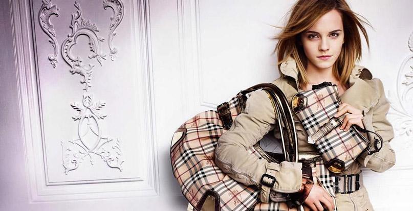 Burberry sử dụng Emma Watson trong các chiến dịch
