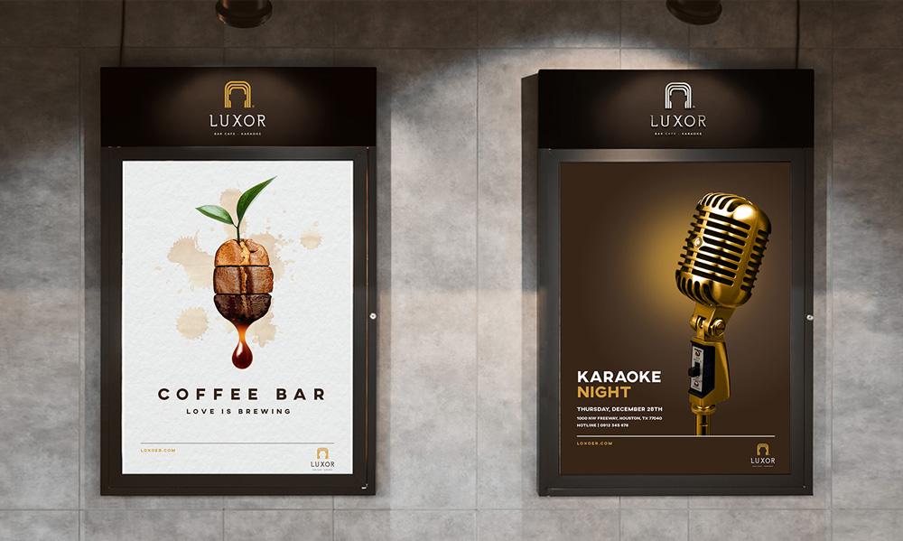 dự án thiết kế Luxor Bar Cafe - Karaoke 19