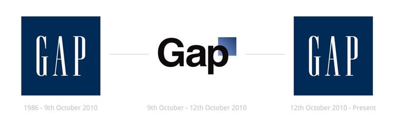 GAP thiết kế lại Logo của mình