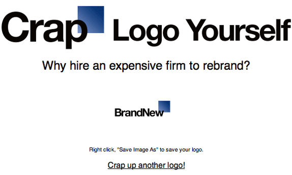 Make your own GAP logo