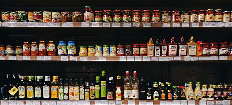 sự cạnh tranh của bao bì trong siêu thị