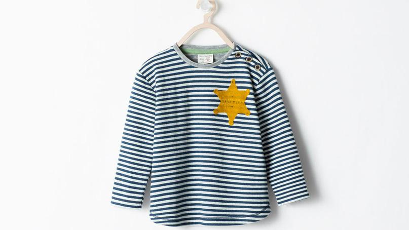 thiết kế áo phông gây tranh cãi của Zara