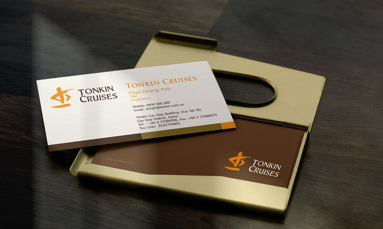 thiết kế logo nhận diện thương hiệu Tonkin Cruises 3