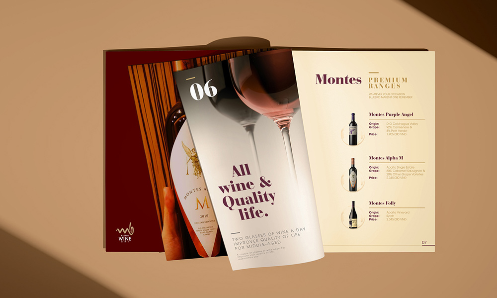 dự án thiết kế Bluebird Wine & Spirit 6