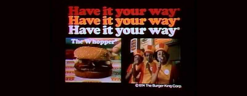 Slogan của Burger King