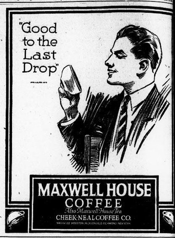 Slogan của Maxwell House