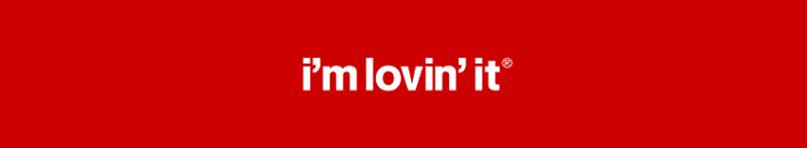 slogan của McDonalds