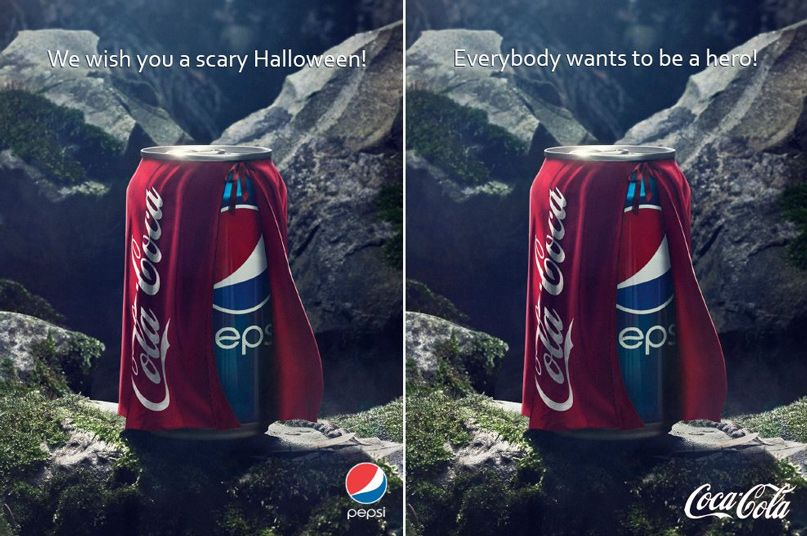 cuộc chiến cạnh tranh của thương hiệu