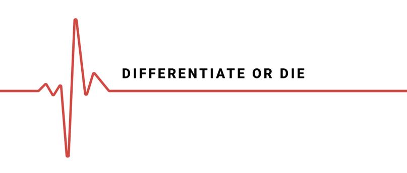 khác biệt hay là chết