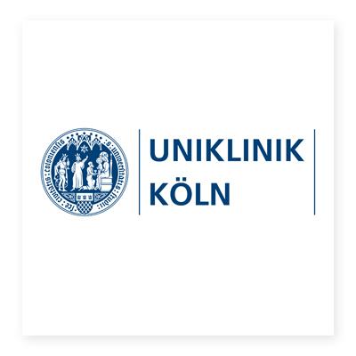 Logo bệnh viện đại học Koln
