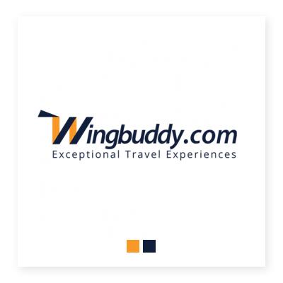 Logo công ty du lịch Wingbuddy