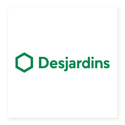 Logo công ty tài chính Desjardins