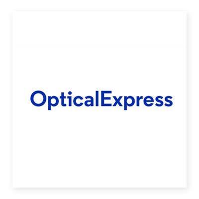 Logo công ty y tế Optical Express