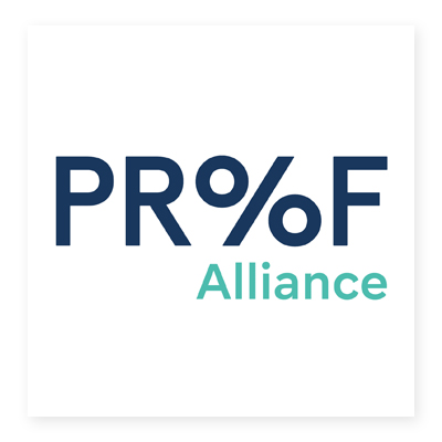 Logo của Proof Alliance