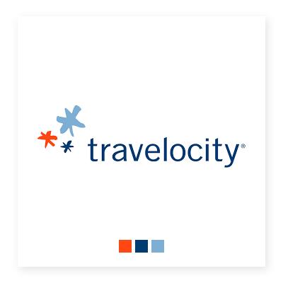 Logo của Travelocity