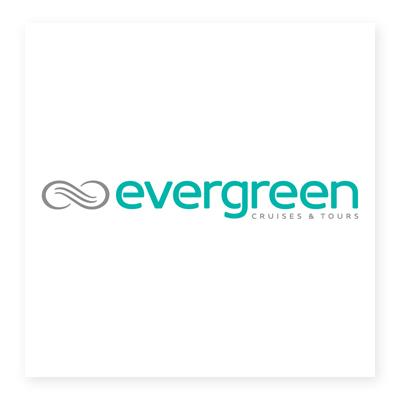 Logo du lịch Evergreen