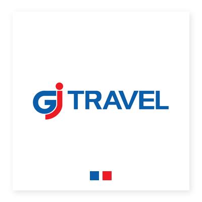 Logo du lịch GJ Travel