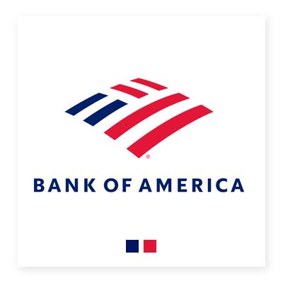 Logo ngân hàng Bank of America
