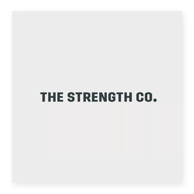Logo sức khỏe The Strength Co