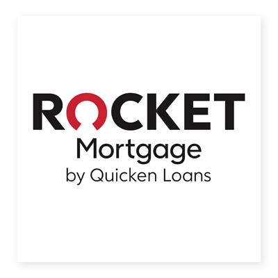 Logo tài chính Rocket Mortgage