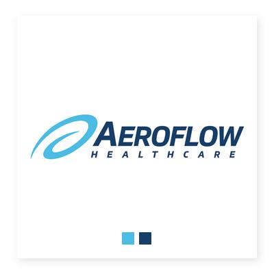 Logo trung tâm sức khỏe Aeroflow
