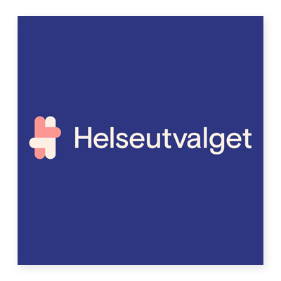 Logo trung tâm y tế Helseutvalget