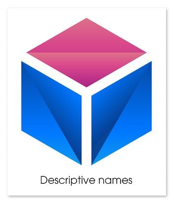 tên thương hiệu Descriptive