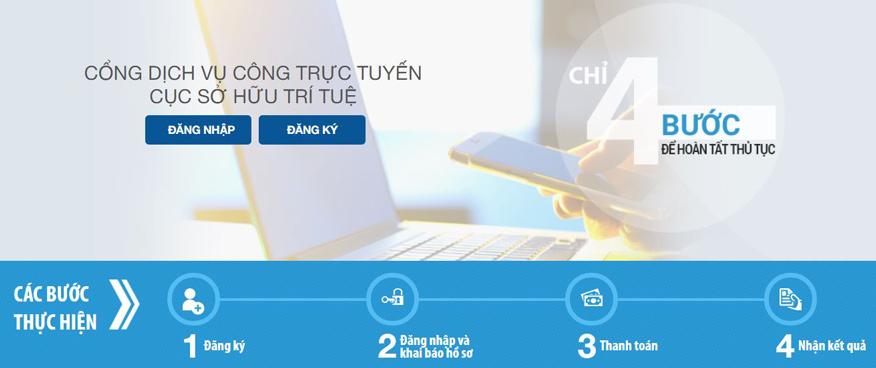 Đăng ký quyền bảo hộ sở hữu trí tuệ Việt Nam