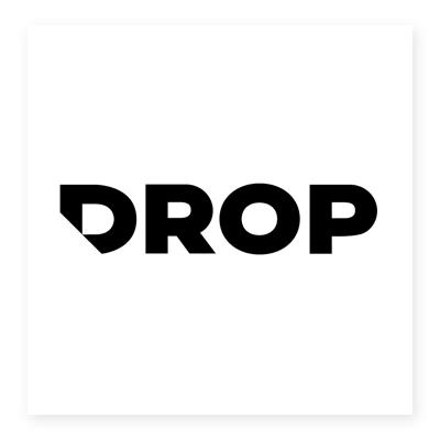 Logo bán lẻ Drop