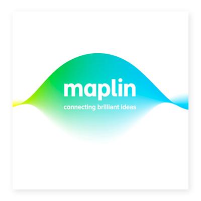 Logo cửa hàng bán lẻ Maplin