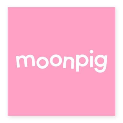Logo cửa hàng bán lẻ Moonpig