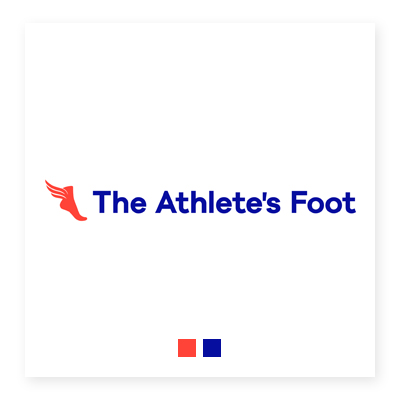 Logo cửa hàng The Athlete's Foot