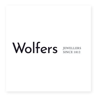 Logo cửa hàng trang sức Wolfers