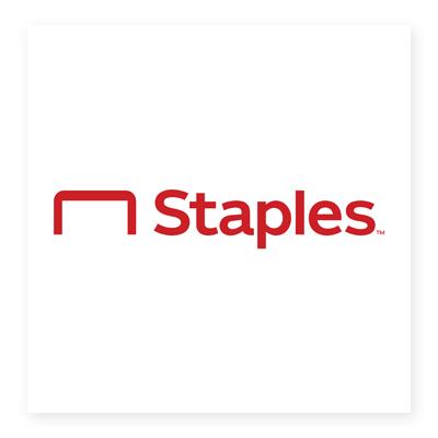Logo hệ thống bán lẻ Staples