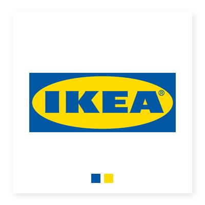 Logo hệ thống nội thất IKEA