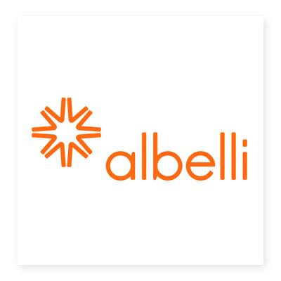 Logo thương hiệu Albelli