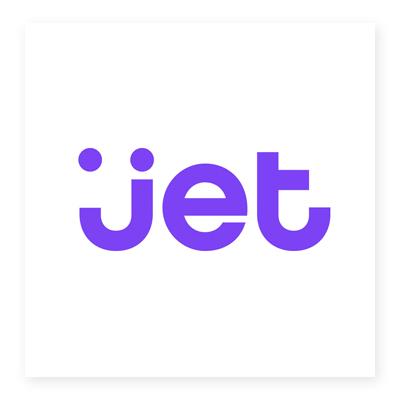 Logo thương hiệu bán lẻ Jet