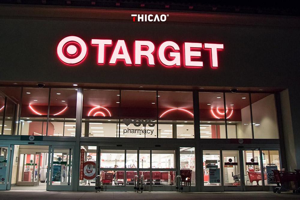 mẫu Logo cửa hàng hệ thống bán lẻ đẹp