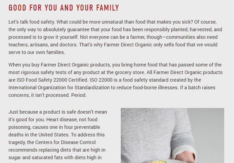 Cam kết của FDO về chất lượng sản phẩm