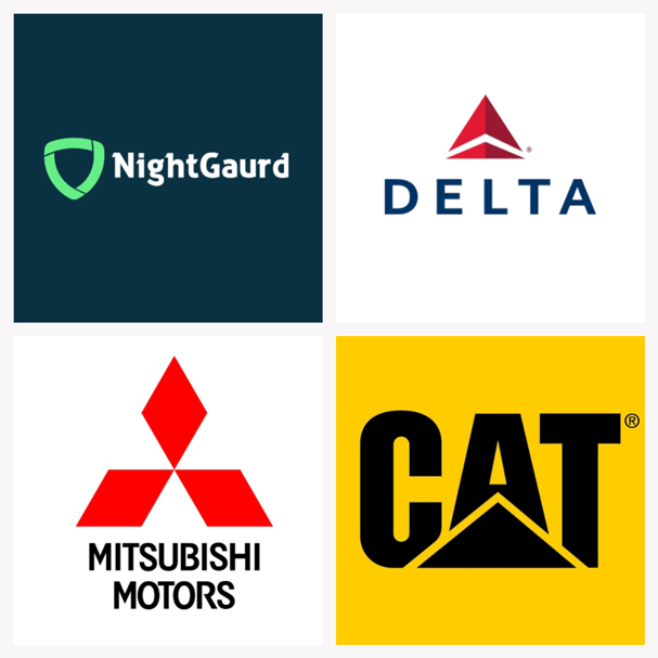 Thiết kế logo tam giác