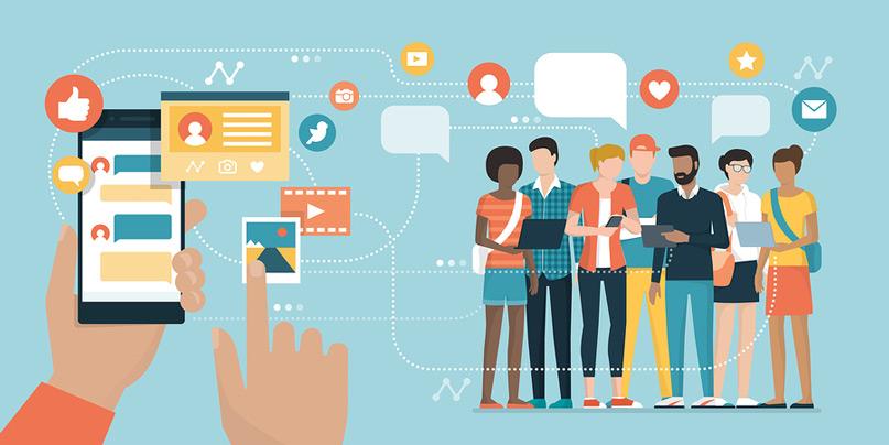 Tương tác với khách hàng trên mạng xã hội