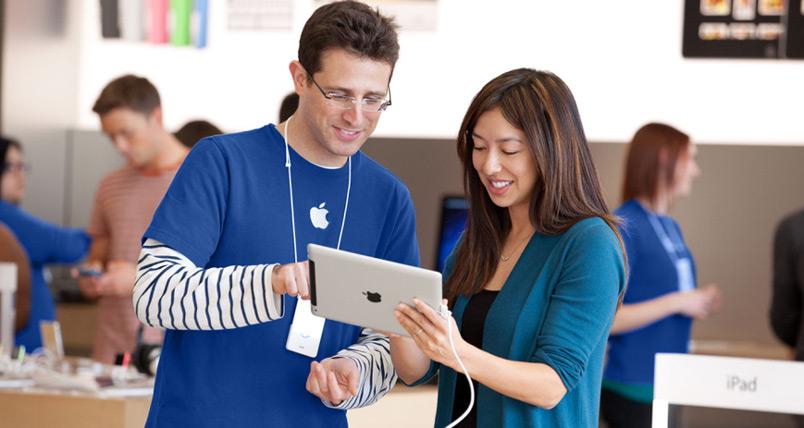 tương tác với khách hàng Apple