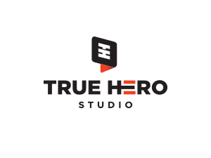 Logo True Hero Studio PNG