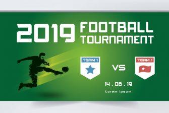 thiết kế banner bóng đá