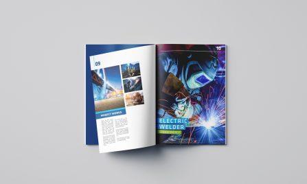 thiết kế báo cáo thường niên Việt Vương 3