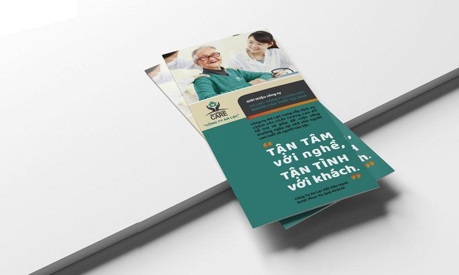 thiết kế Brochure công ty An Lạc 1