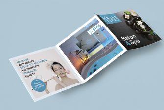 thiết kế brochure Spa