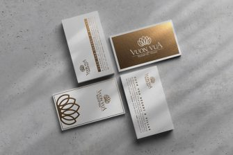 thiết kế card visit khách sạn