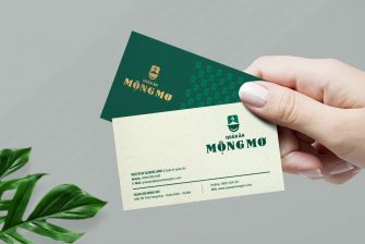 thiết kế card visit quán ăn