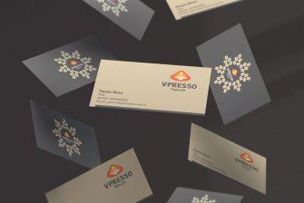 thiết kế card visit quán cafe